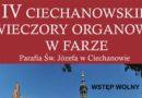 IV Ciechanowskie Wieczory Organowe