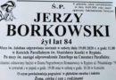 Zmarł śp. Jerzy Borkowski