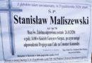 Zmarł organista śp. Stanisław Maliszewski